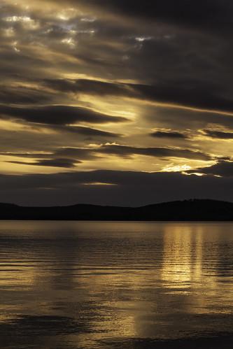 sunset missouri branson newyearsday tablerocklake