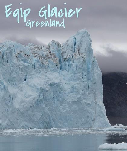 Eqip Glacier, Greenland