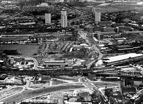 Aerial Heath Town circa 1970's