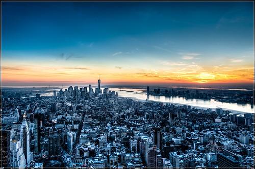 city nyc newyorkcity usa ny newyork rooftop skyline skyscraper nikon unitedstates manhattan newyorker bigapple ville lightroom gratteciel d700 nikond700 nikonafs2470mmf28ged mrletof