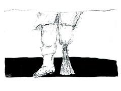 Besen Grafik - broom graphics (BG 02.1): Man - Mann