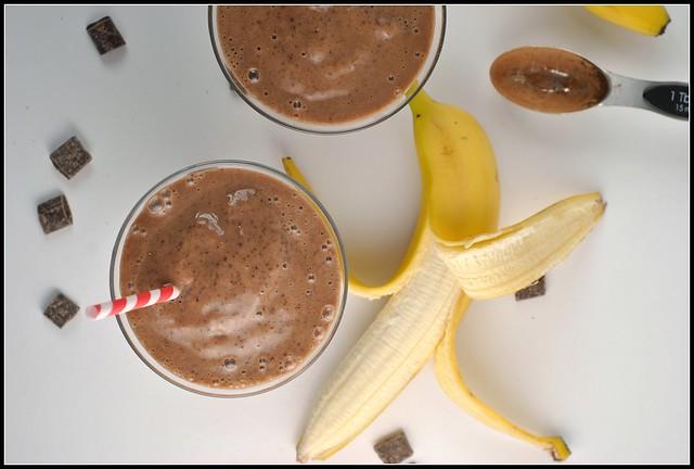 Chocolate Banana Smoothie 3