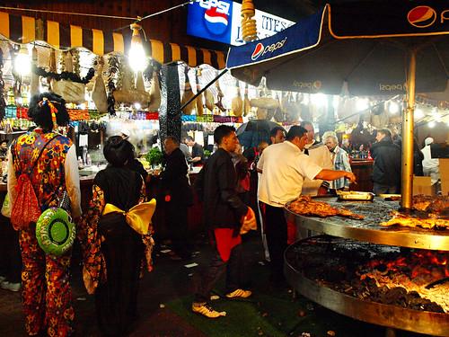Food Stall, carnival, Santa Cruz, Tenerife