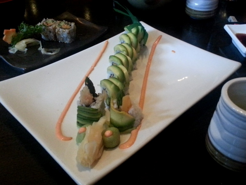 Fune sushi dragon