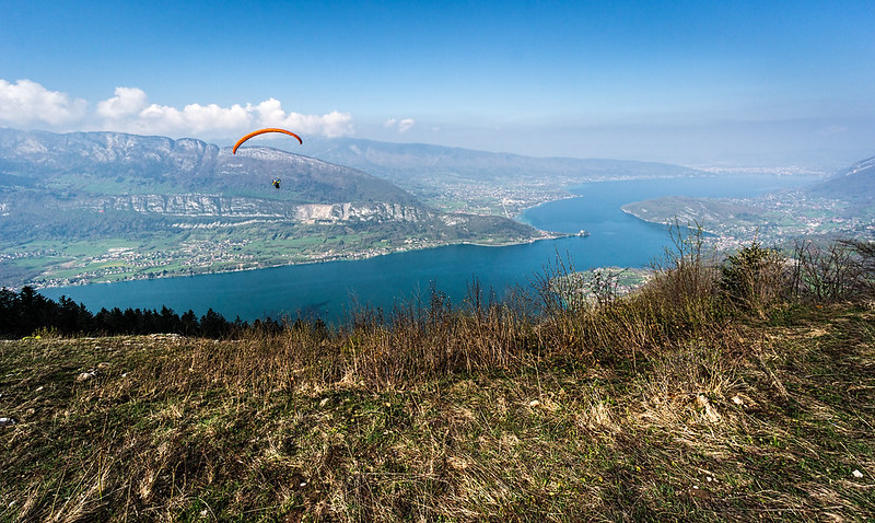 Flying High, Lake Annecy