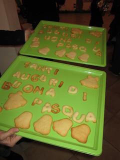I biscotti fatti dai bambini