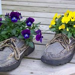 Planter-old shoes_lushome_com