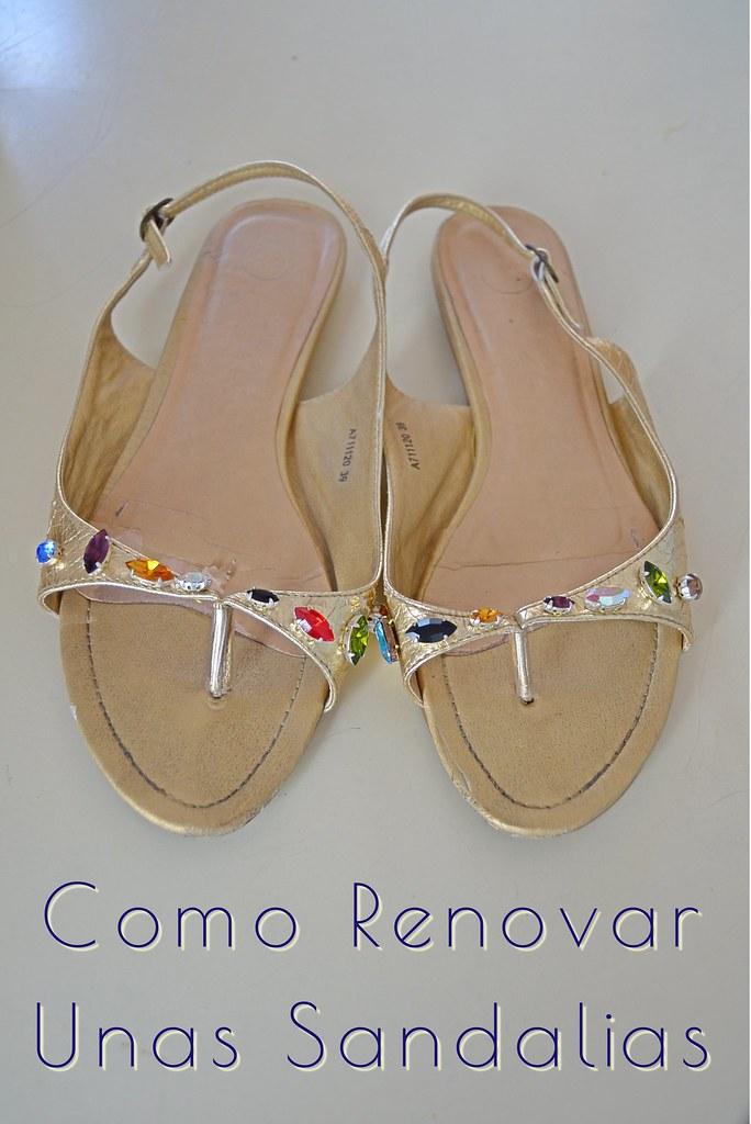 como-renovar-unas-sandalias
