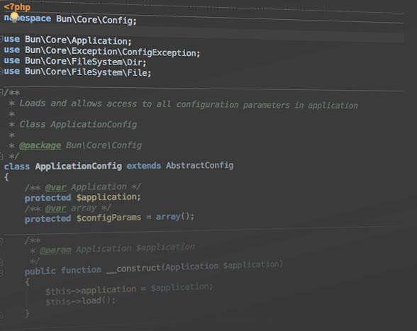 Bun Framework config
