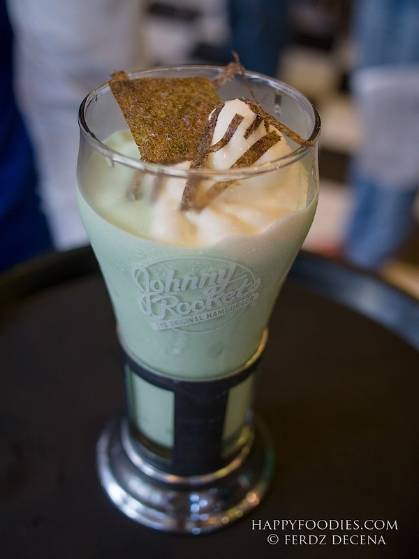 The wasabi milkshake (Php 195)