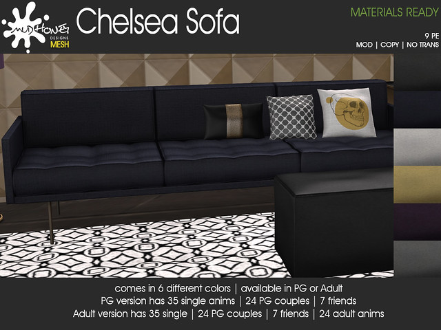 mudhoney chelsea sofa