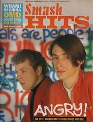 Smash Hits, May 22, 1985