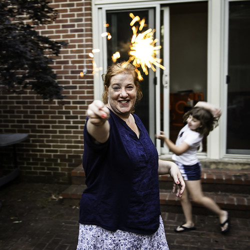 Magic Sparkler Wand by Geoff Livingston