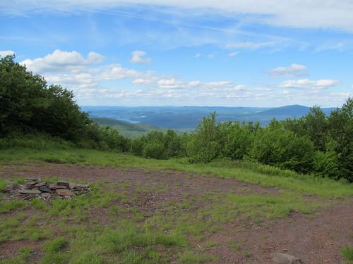 The summit of Bearpen Mountain
