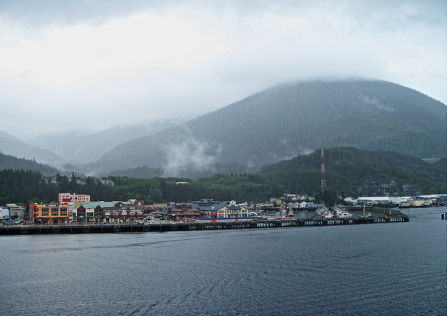 Arriving Ketchikan 20140615