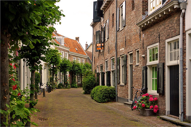 "Muurhuizen (""wall houses"") in Amersfoort"
