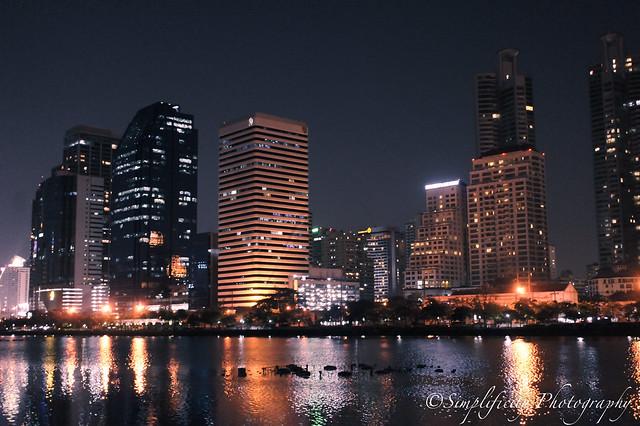 สวนเบญจกิติ night photography