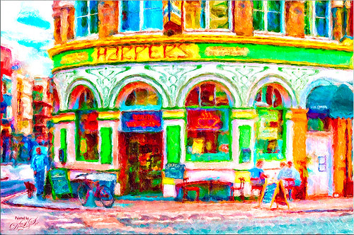 Image of a store on Southwark Street in London