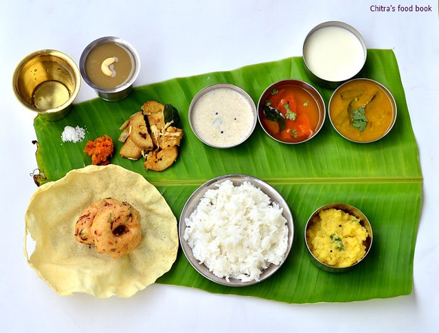 South Indian lunch menu ideas