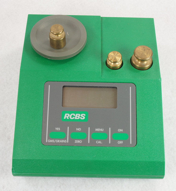 RD14599 RCBS PACT Electronic Digital Precision Powder Dispenser & Scale RD14598 DSC06342