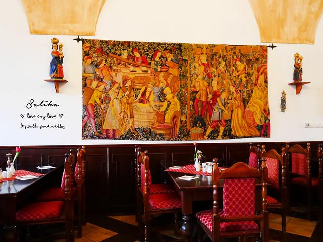 Hotel Ruze薔薇飯店Charming Hotel in cesky Krumlov中世紀扮裝晚餐-自助式早餐 (24)