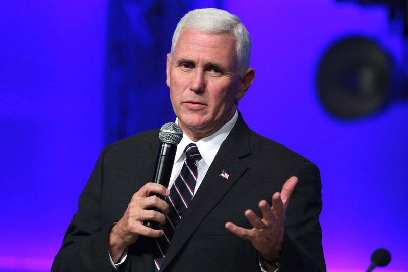 Mike Pence, Republican candidate for Vice President