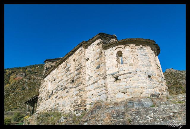 Conjunto histórico de Les Bons - Iglesia Sant Romà de Les Bons