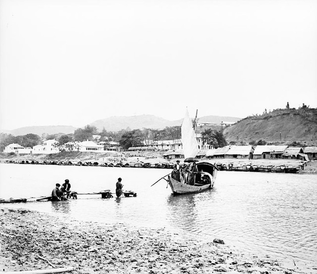 La ville de Lao Kay au début du XXe siècle - Thị trấn Lào Kay vào đầu thế kỷ 20