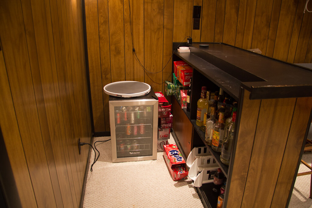 Basement Renovation | Before Photos | Basement Bar