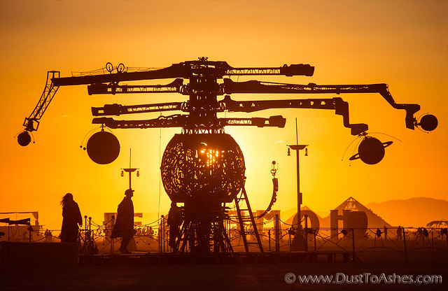 Dust To Ashes | Burning Man Festival Photos