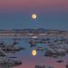 Super Moon Reflection by Jeffrey Sullivan