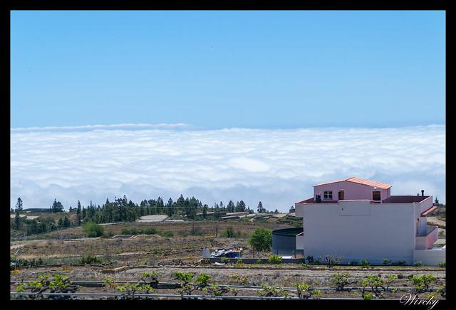 Tenerife Santiago del Teide acantilados los Gigantes Vilaflor - Mar de nubes en Vilaflor