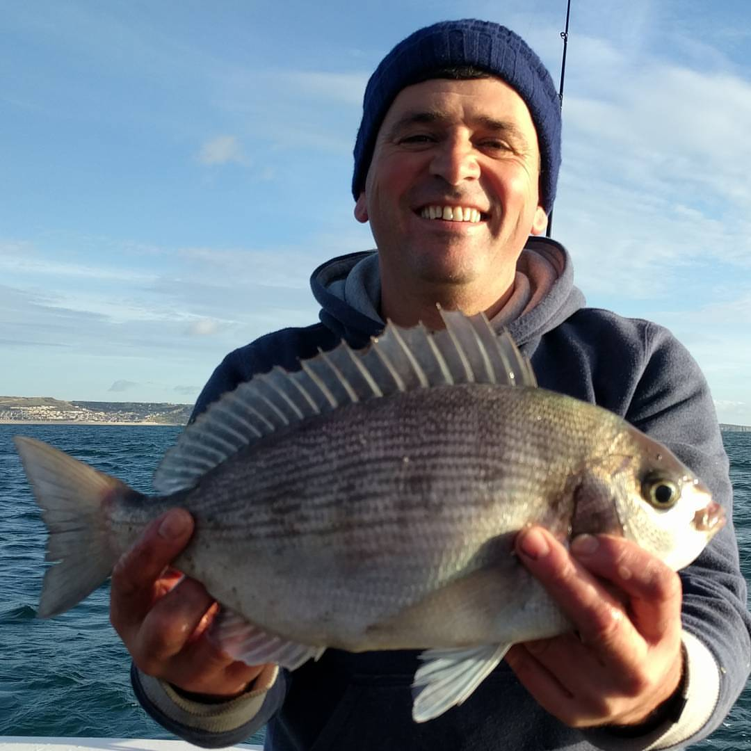First couple of hours today were nonstop Bream and Pollock #amarisaweymouth