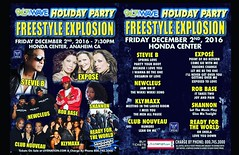 Party your body! #hondacenter #anaheim #stevieb #expose #robbase #klymaxx #clubnouveau #readyfortheworld #newcleus #concert