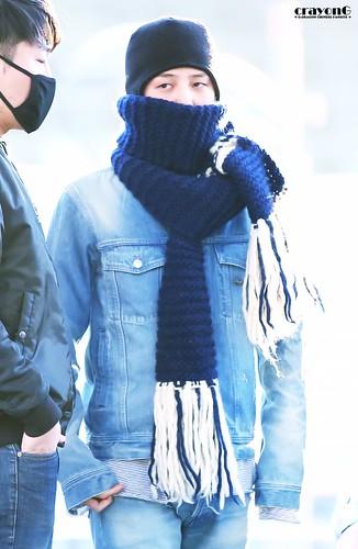 BIGBANG departure Seoul to Nagoya 2016-12-02 (2)