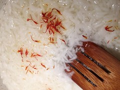 Cooking with saffron... Food Top Perspective From…