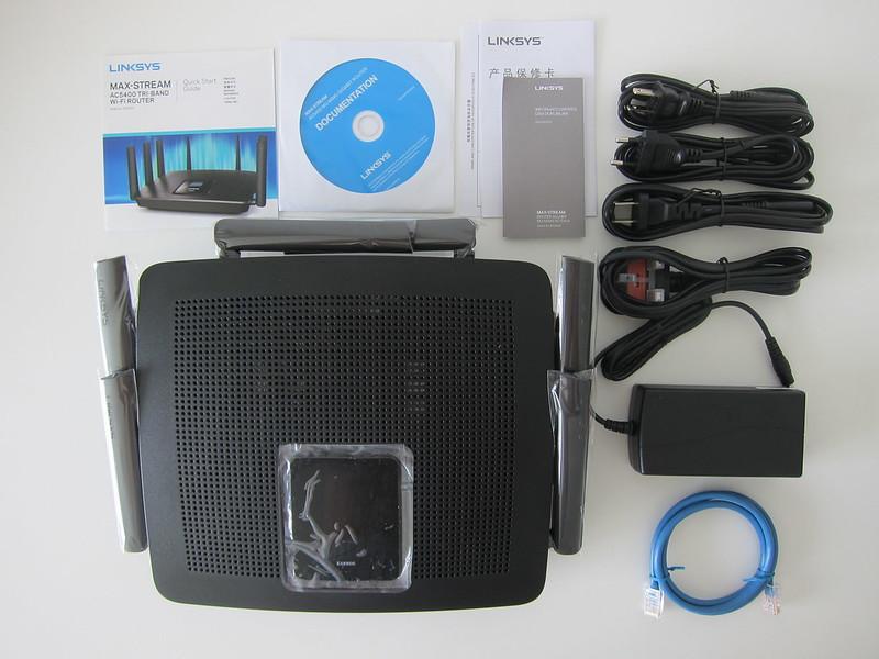 EA9500 - Box Contents
