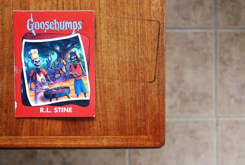 Goosebumps Postcard