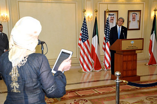 Secretary Kerry Takes a Question From a Kuwaiti Journalist