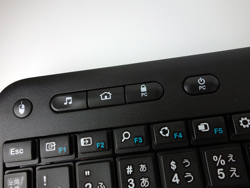 Logicool Wireless Touch Keyboard k400r
