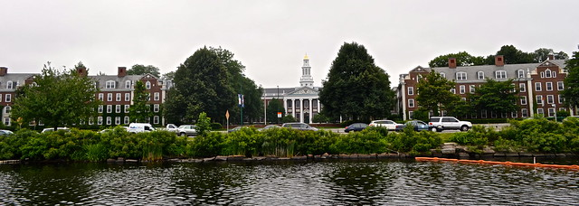 boat cruise in boston - harvard university