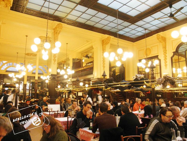 Interior de Bouillon Chartier