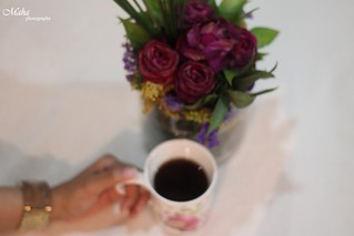 Flower & coffe
