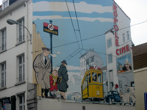 Comic Strip Murals