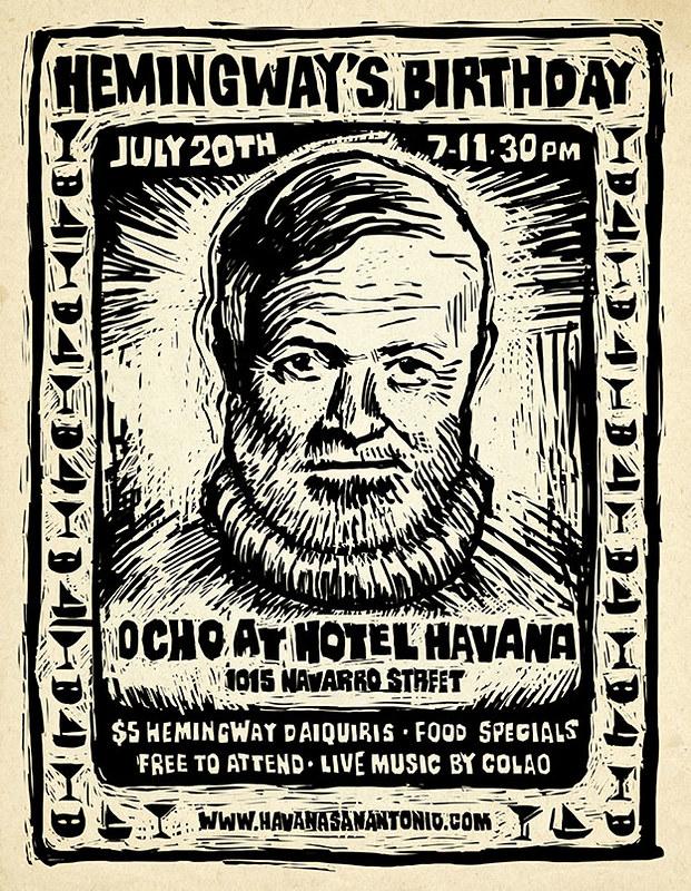 Ernest Hemingway's Birthday