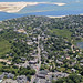 Downtown Chatham, Cape Cod Aerial by Chris Seufert
