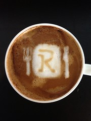 Today's latte, Retty.