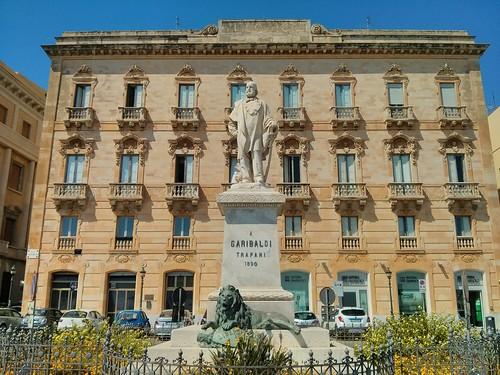 Garibaldi Statue Trapani
