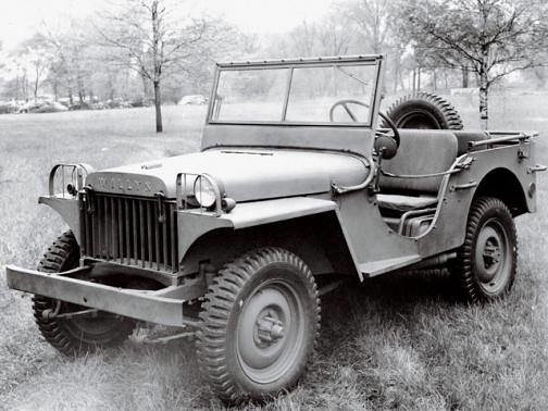 De Willys MA prototype