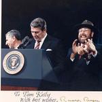 President Ronald Reagan's autograph